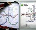 В течение месяца в Киеве заменят старую схему метрополитена на новую. ФОТО