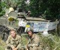Бой украинских десантников с сепаратистами глазами водителя БТР. ВИДЕО 18+
