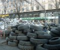 На місці першої барикади на Хрещатику замість «Сбербанку» відкрили нове відділення «Ощаду». ФОТО