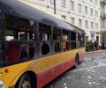 В центре Варшавы взрывом ранило 4 человека. ФОТО