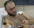 Ярош дав перше інтерв'ю після поранення. ВІДЕО