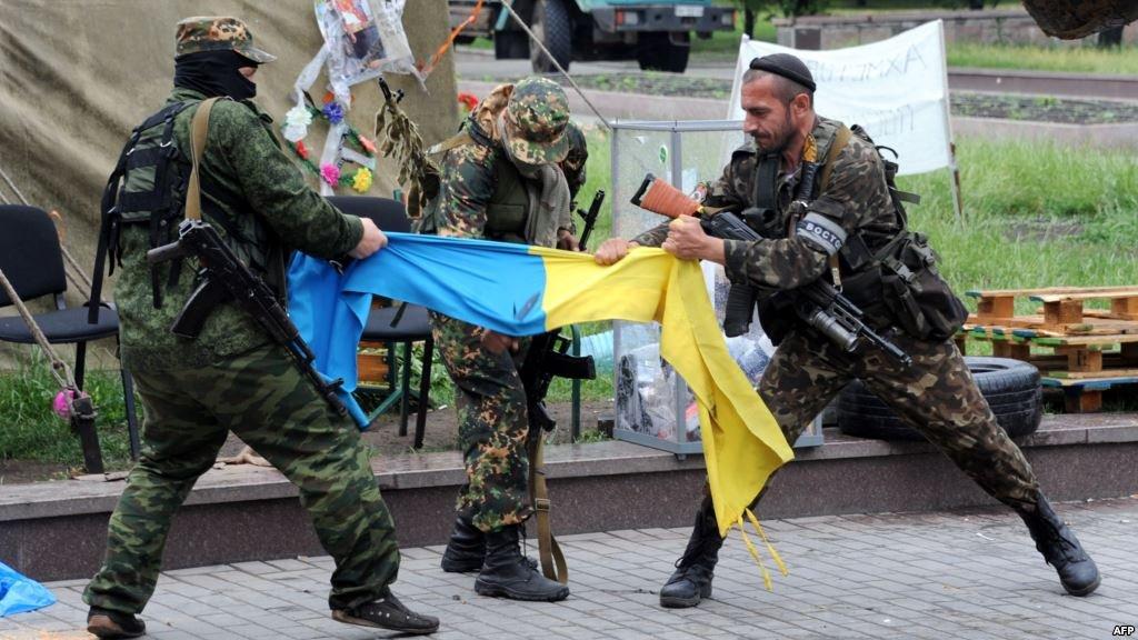 Террористы 68 раз обстреляли позиции украинских бойцов, - штаб АТО - Цензор.НЕТ 5865