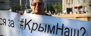 Украли Крым? Пользуйтесь! Но не ждите от нас помощи в освоении ворованного