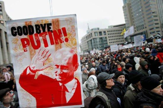 Следующая война Путина будет внутри России — Bloomberg